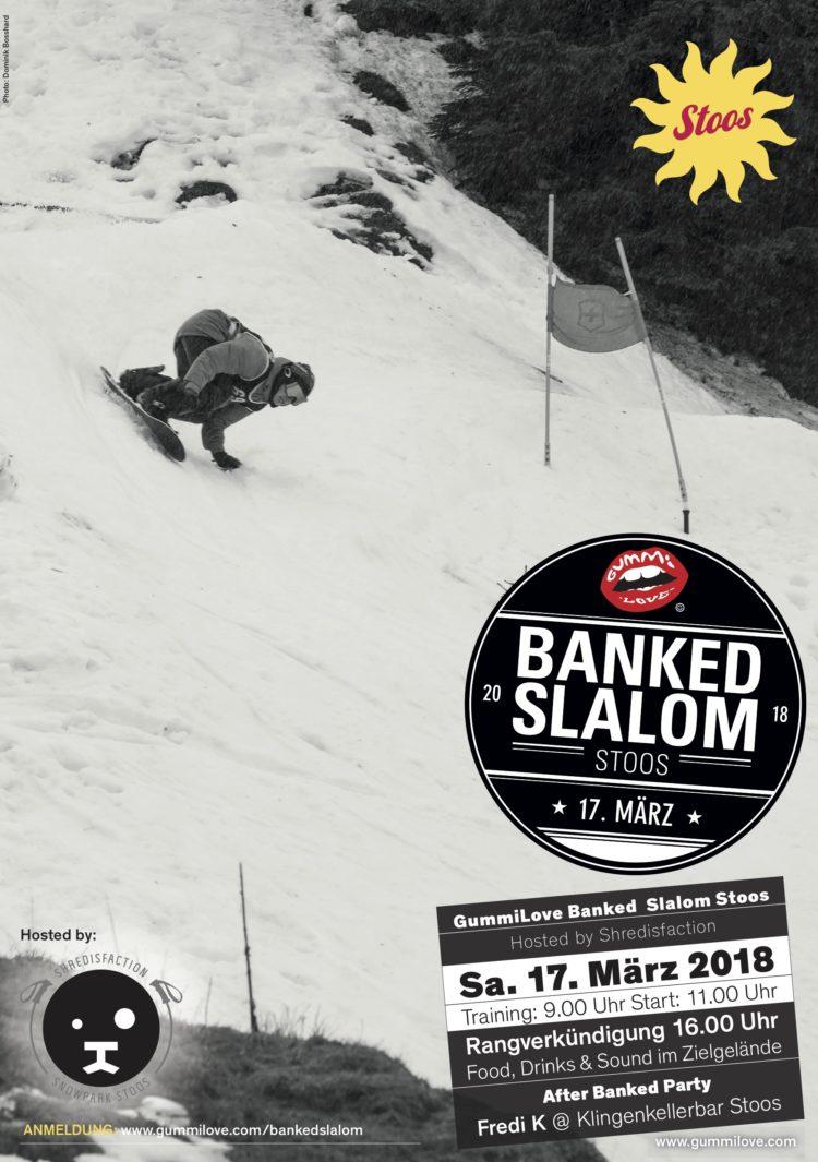 Banked Slalom Stoos 17. März 2018