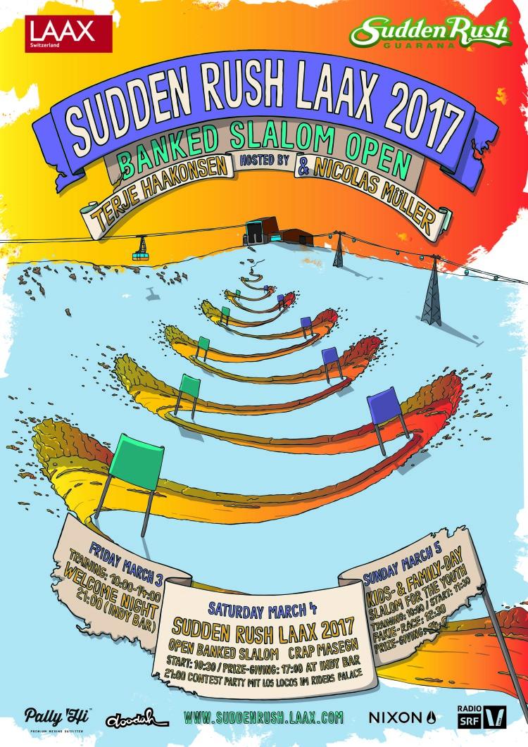 Sudden Rush LAAX 3. bis 5. März 2017