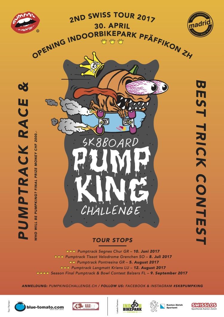 2. Runde der Sk8board PumpKing Challenge