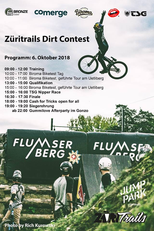 3. Züritrails Jumppark Dirt Contest
