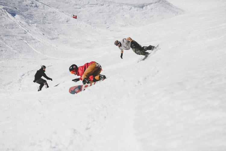 1st Zuoz Rocks Banked Slalom 4Charity