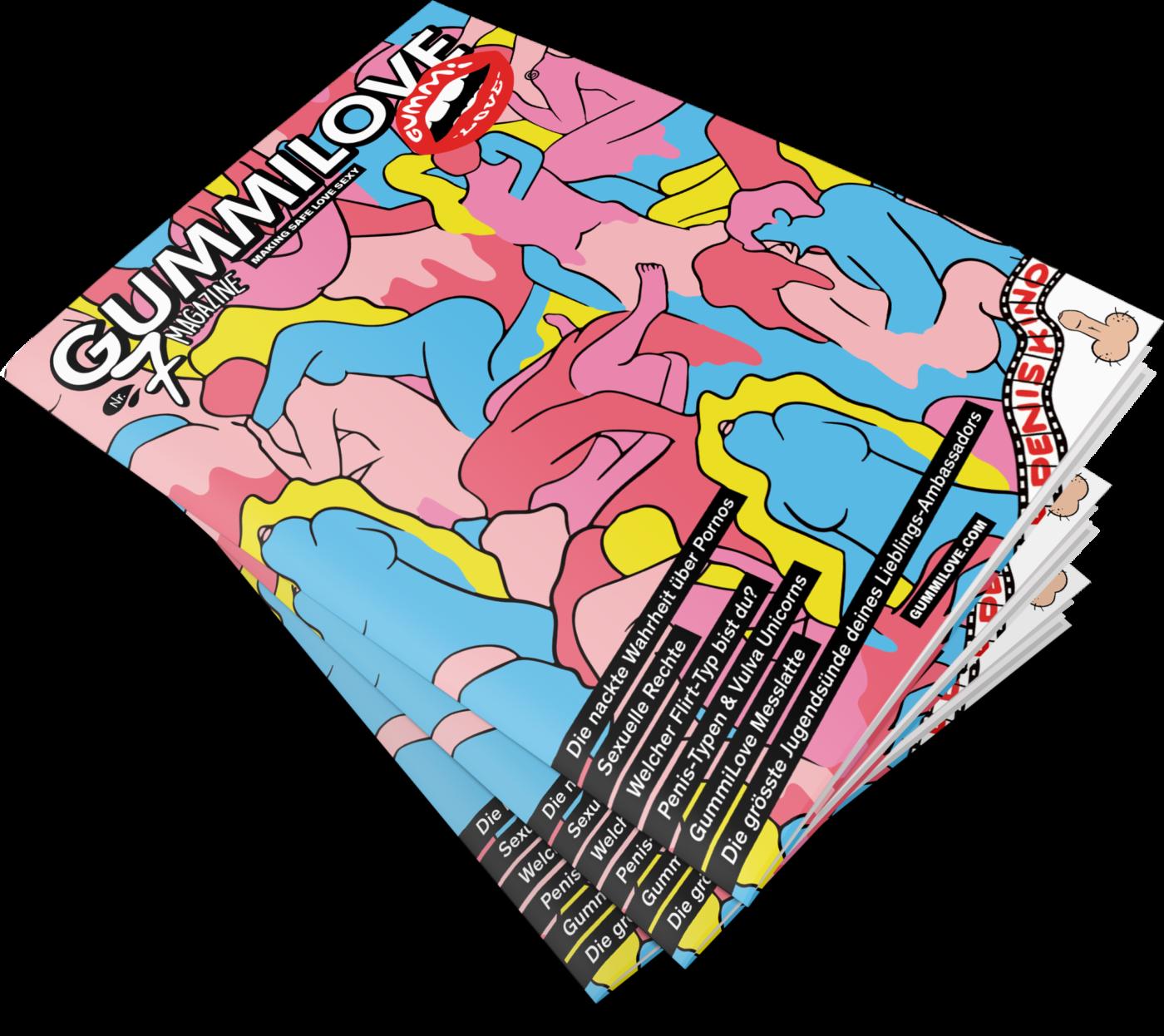 GummiLove Magazin No. 7 (inkl. Stickerset)